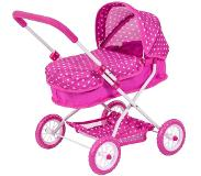 Bayer poppenwagen Smarty roze 58 cm