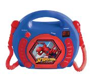 Lexibook Spiderman Portable CD player Blauw, Rood