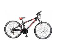 Bike Fun Crash - Fiets - Jongens - Zwart - 24 Inch