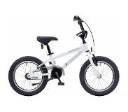 Bike Fun Cross Tornado 16 Inch 34 cm Junior Terugtraprem Wit