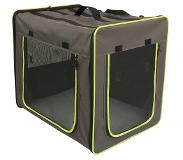 Zooplus Exclusive 61 x B 46 x H 53,5 cm Transportbox First Class Basic - M