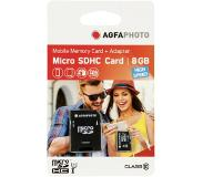 Agfaphoto Mobile High Speed 8GB MicroSDHC Class 10 8GB + Adapter