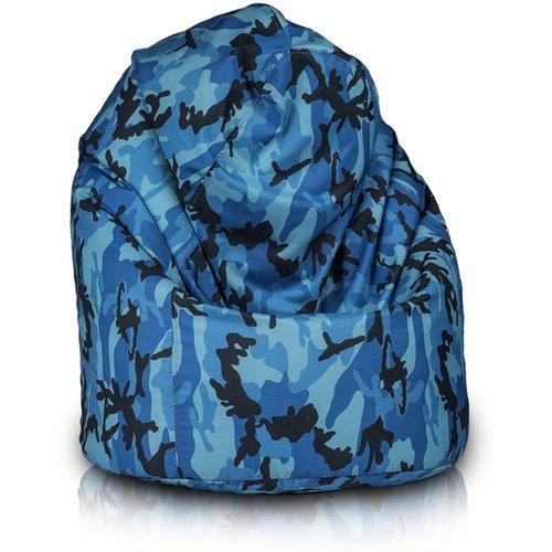 Zitzak Fatboy Camouflage.Bomba Relax Zitzak Camouflage Blauw
