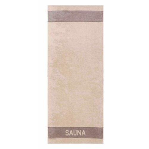 Sauna Handdoek Hema.Cawo Saunalaken Sauna Line Met Sauna Opschrift
