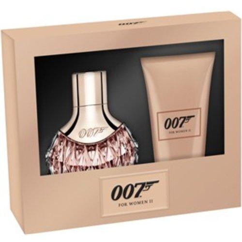 James Bond 007 Damesgeuren For Women II Gift Set Eau de Parfum Spray 30 ml + Body Lotion 50 ml 1 Stk.