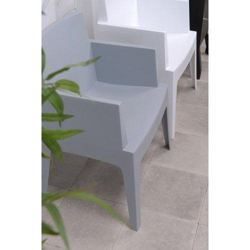 Fauteuil Ponte Verstelbaar.Garden Impressions Box Tuinstoel Silver