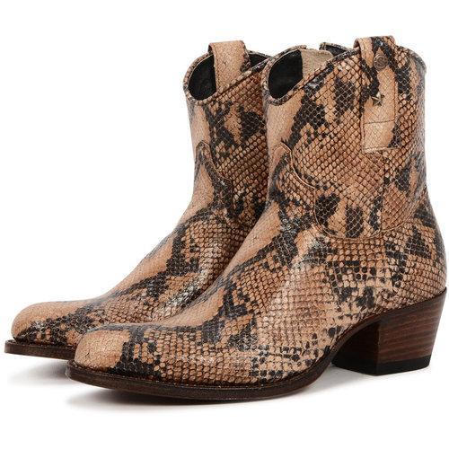 Slangenleren SENDRA vintage laarzen | Schoenen Online