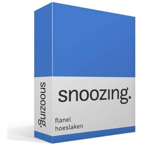Flanellen Lakens Hema.Snoozing Flanel Hoeslaken Lits Jumeaux 180x200 Cm 100 Geruwde