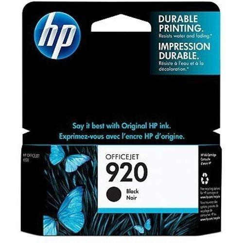 HP 920 Set of 4 Ink Cartridges NEW Genuine B-C-M-Y