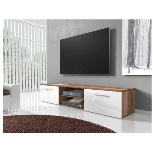 Stevig Houten Tv Meubel.Trendmanufaktur My Home Wandmeubel Set 2 Delig Tv