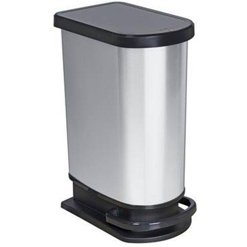 Design Afvalemmer Rotho.Rotho Paso Pedaalemmer 50 Liter Inhoud In Liters 50