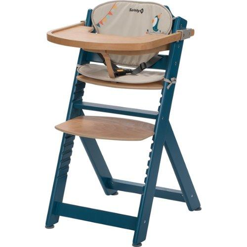 Meegroeistoel Te Koop.Safety 1st Timba With Cushion Petrol Blue Wood Happy Day 2019