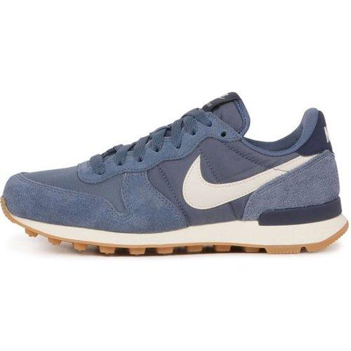 nike internationalist heren blauw