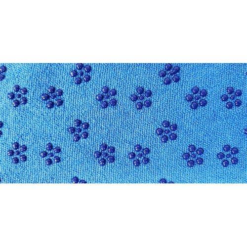 9bda330a62d Tunturi Silicone Yoga handdoek met anti slip - met draagtas - Blauw