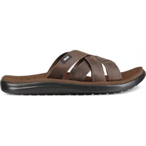 Teva Men Voya Slide Leather Carafe Schoenmaat 39,5 (UK 6)
