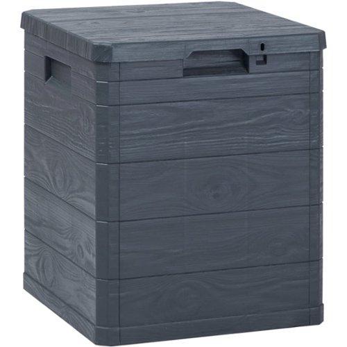 Tuinkussen Opbergbox Tuinmeubelen Vergelijken.Vidaxl Opbergbox 90 L Antraciet