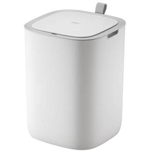 Brabantia Rechthoekige Pedaalemmer 25 Liter.Eko Morandi Smart Sensor Afvalbak 12 L Kleur Wit
