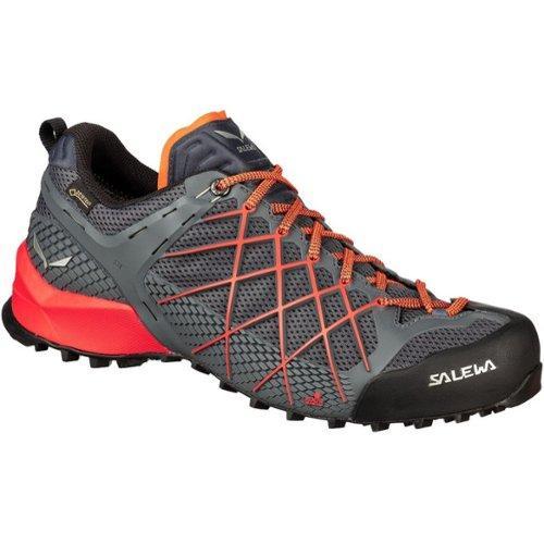 Salewa Wildfire GTX Schoenen Heren, ombre bluefluo orange 2020 UK 9 | EU 43 Trekking & Wandelschoenen