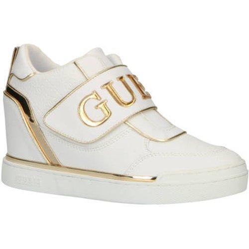 GUESS Follie sneaker met sleehak en metallic details