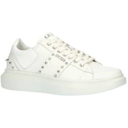 GUESS Kean leren sneakers met studs wit Wit 43