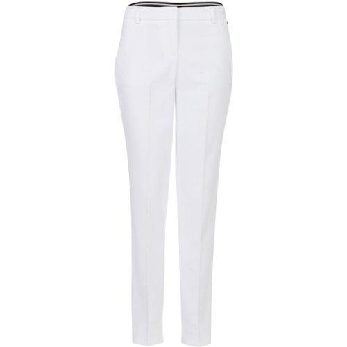 Steps Dames Pantalon wit Maat: 44 Buitenstof: 57% Katoen, 40% Polyester, 3% Elastaan